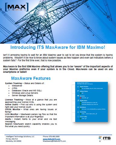 MaxAware flyer